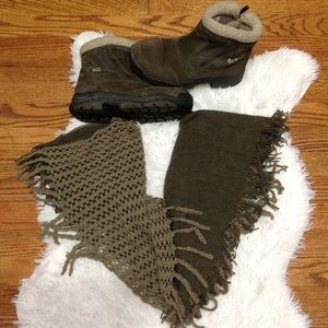 Chinese Laundry Multi Knit Infinity Scarf